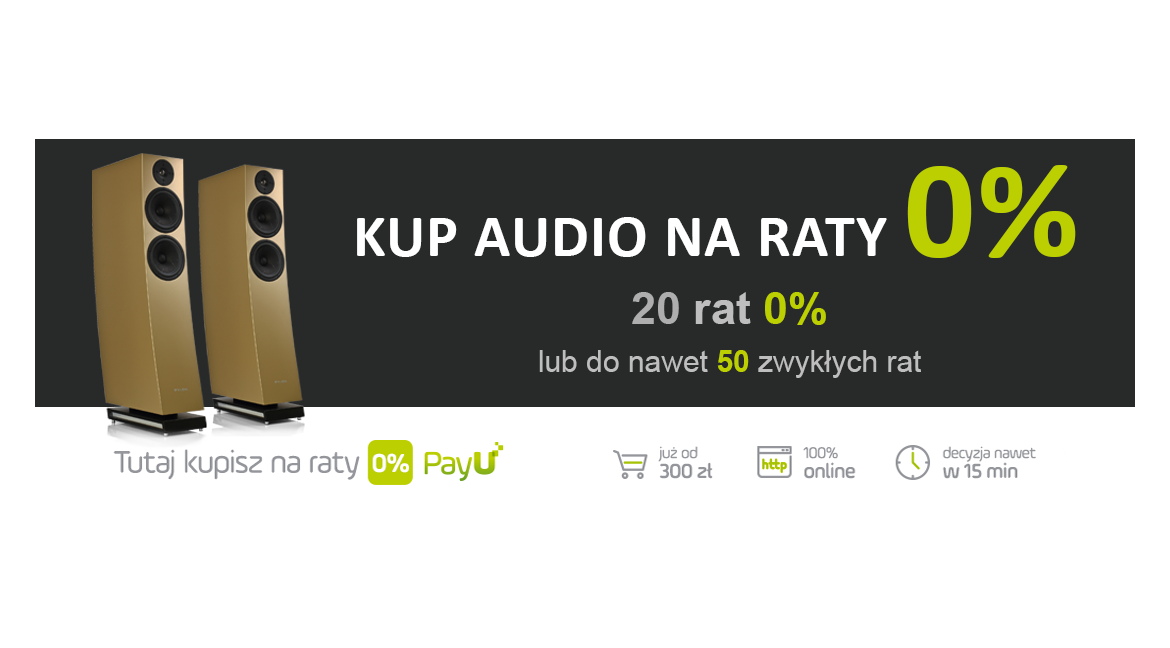 Raty 0% w Audio-ON